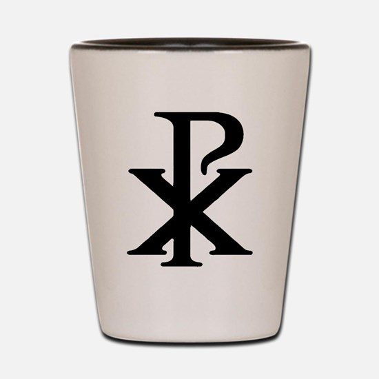 """Chi Rho"" Shot Glass"