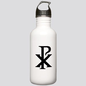 """""""Chi Rho"""" Stainless Water Bottle 1.0L"""