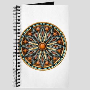 Native American Rosette 07 Journal
