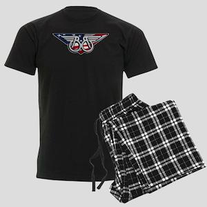 Winged B with American Flag Pajamas