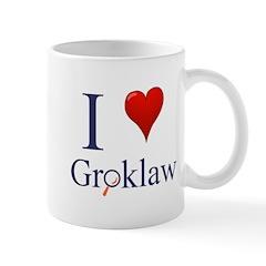 I love Groklaw Mug right handed