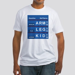 GAS PRICES Fitted T-Shirt