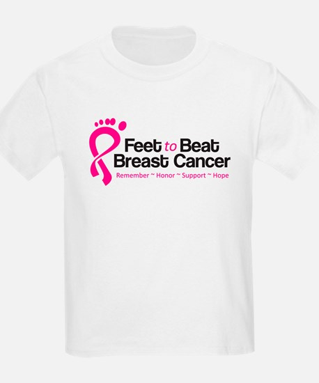 Feet to Beat Breast Cancer Kids T w/ Mom