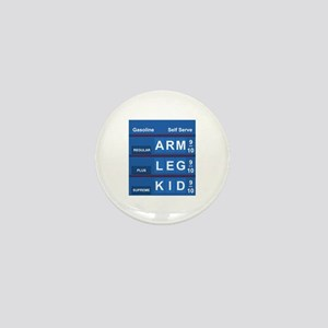 GAS PRICES Mini Button