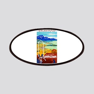 New Zealand Travel Poster 6 Patches