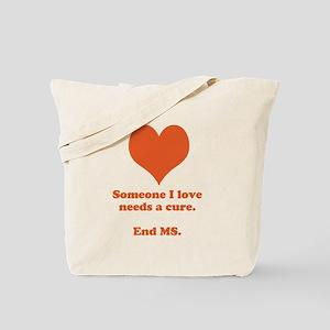 End MS Tote Bag