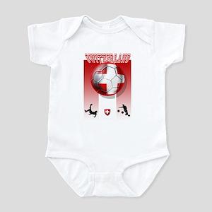 Switzerland Soccer Infant Bodysuit