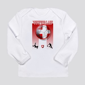 Switzerland Soccer Long Sleeve Infant T-Shirt