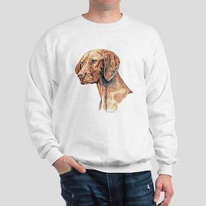 Vizsla Dog Portrait Sweatshirt