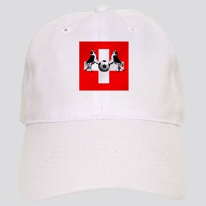 Swiss Football Flag Cap