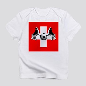 Swiss Football Flag Infant T-Shirt