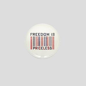 Freedom is Priceless America Mini Button