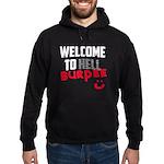 Welcome to Burpee Hoodie (dark)