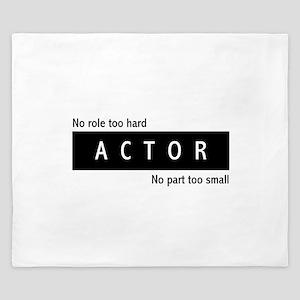 Actor King Duvet