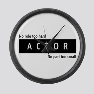 Actor Large Wall Clock