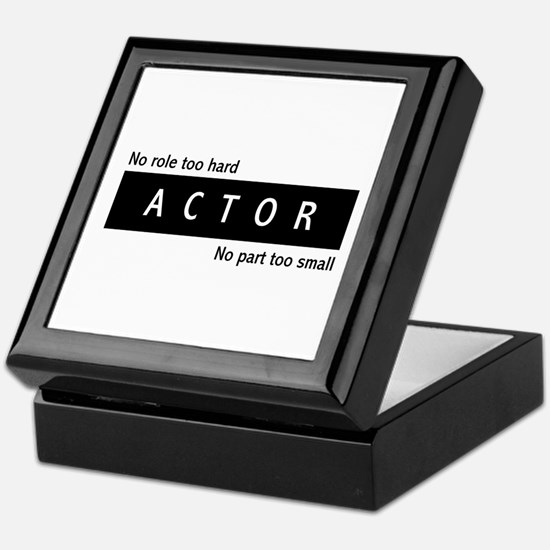 Actor Keepsake Box