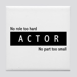 Actor Tile Coaster
