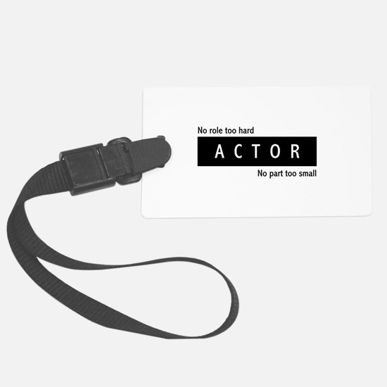 Actor Large Luggage Tag