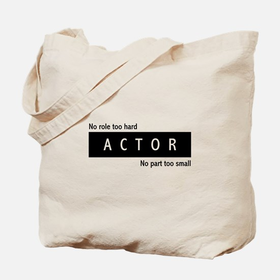 Actor Tote Bag