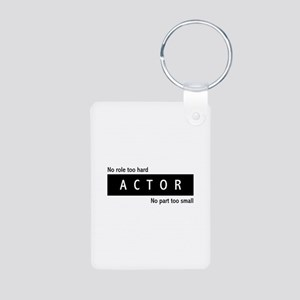 Actor Aluminum Photo Keychain