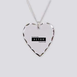 Actor Necklace Heart Charm