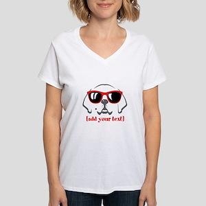 Retriever Women's V-Neck T-Shirt