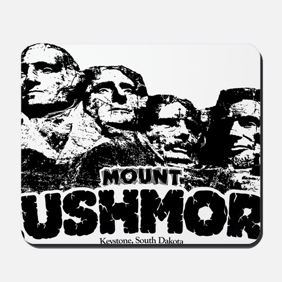 Mount Rushmore Mousepad