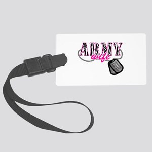 Army Wife Large Luggage Tag