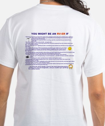 You Might Be An Rv-Er White T-Shirt