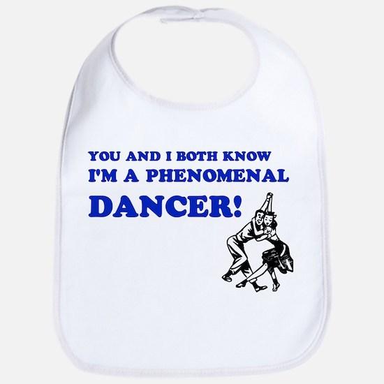 I'm A Phenomenal Dancer Bib