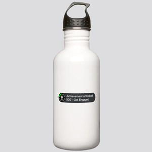 Got Engaged (Achievement) Stainless Water Bottle 1