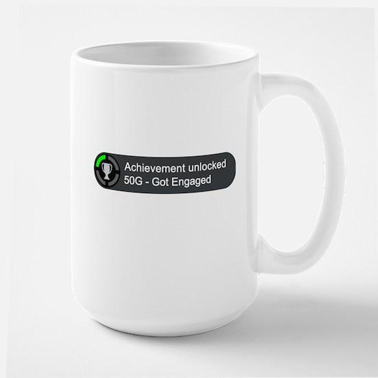 Got Engaged (Achievement) Large Mug