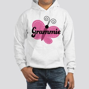 Grammie Grandma Butterfly Hooded Sweatshirt