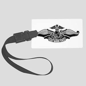 Fleet Marine Force Large Luggage Tag