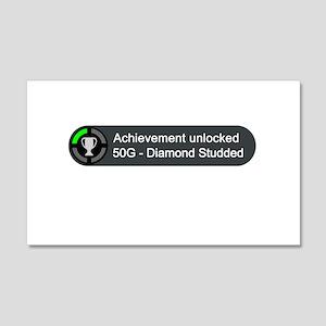 Diamond Studded (Achievement) 20x12 Wall Decal