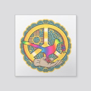 PEACE ROADRUNNER Sticker