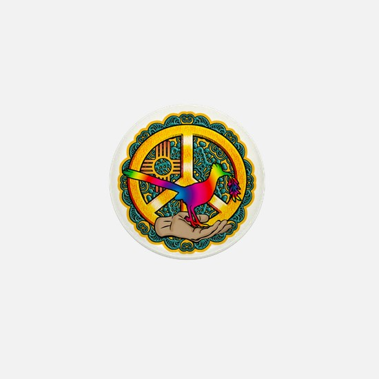 PEACE ROADRUNNER Mini Button