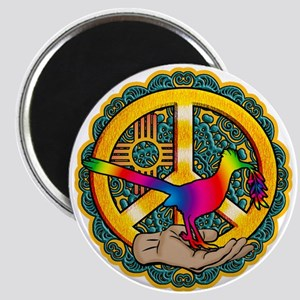 PEACE ROADRUNNER Magnets