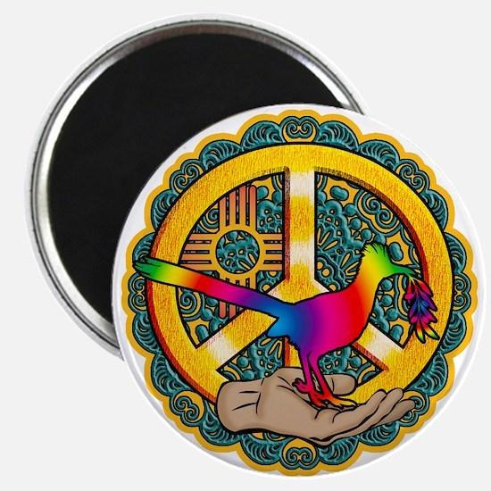 PEACE ROADRUNNER Magnets