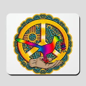 PEACE ROADRUNNER Mousepad