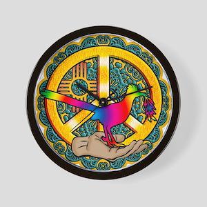 PEACE ROADRUNNER Wall Clock