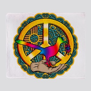 PEACE ROADRUNNER Throw Blanket