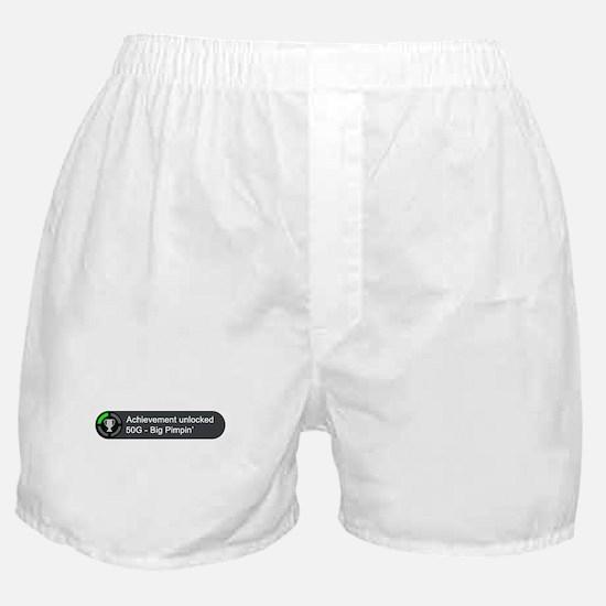 Big Pimpin (Achievement) Boxer Shorts