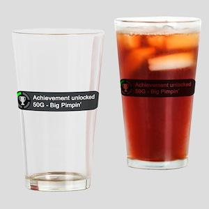 Big Pimpin (Achievement) Drinking Glass