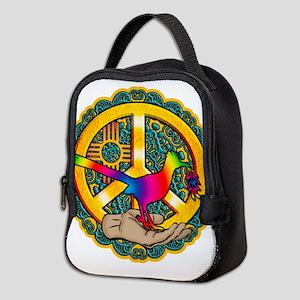 PEACE ROADRUNNER Neoprene Lunch Bag