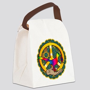 PEACE ROADRUNNER Canvas Lunch Bag