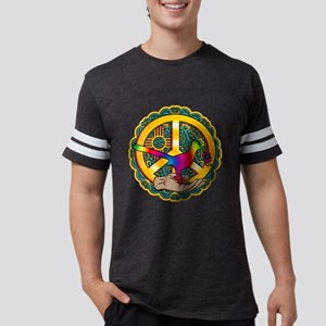 PEACE ROADRUNNER Mens Football Shirt