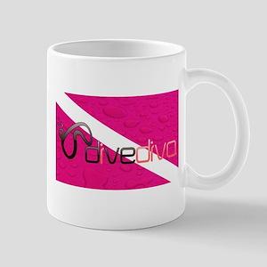 Dive Diva Mask Mug