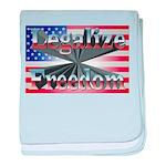 Legalize Freedom baby blanket