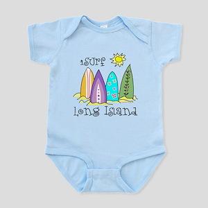 I Surf Long Island Infant Bodysuit